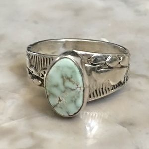 Navajo Dry Creek Turquoise Ring